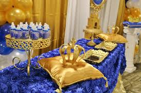 blue and gold decoration ideas amazing ideas blue and gold baby shower decorations absolutely smart