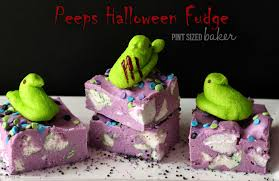 thanksgiving peeps peeps halloween fudge pint sized baker