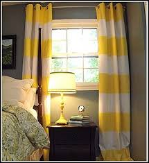 Yellow Nursery Curtains Appealing Yellow And White Curtains And Yellow And White Curtains
