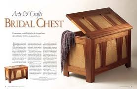 Arts And Crafts Nightstand Arts U0026 Crafts Bridal Chest Shopwoodworking