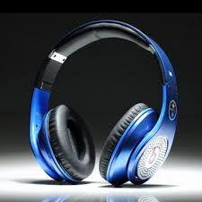 Light Blue Beats Beats By Dre Studio Electroplating Colorware Chrome Luxury Full
