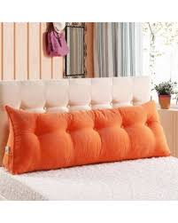bed pillow for reading new shopping special large filled triangular sofa bed back