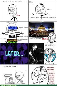 Muse Meme - very first rage comic muse related by greendaymusesum41 on