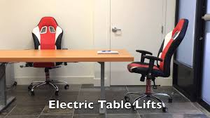Diy Motorized Desk How To Build An Adjustable Motorized Sit Stand Ergonomic Office