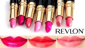tutorial lipstik revlon revlon super lustrous lipstick lip swatches 2 youtube