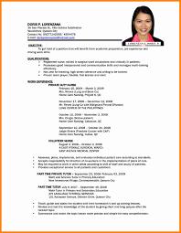 basic resume exles 2017 philippines call center resume sle beautiful 5 sle resume in philippines