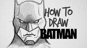 how to draw batman drawing factory