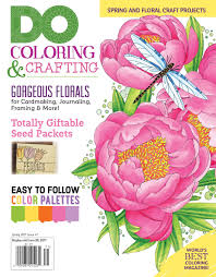 spring color palette 2017 do magazine issue 7 spring 2017 fox chapel publishing