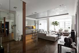 Hardwood Floor Apartment 5 Posh Apartment Interiors