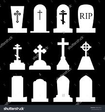 Unique Home Decor Catalogs Grave Stock Vectors Vector Clip Art Shutterstock Tombstone Icon