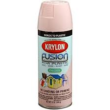 krylon k02331007 fusion for plastic spray paint fairytale pink