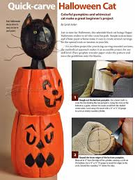 halloween cat wood carving patterns u2022 woodarchivist
