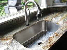 impressing undermount kitchen sink installation jburgh homes in