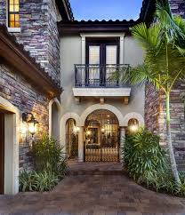 courtyard home designs courtyard entry of sater design s casoria home plan from our
