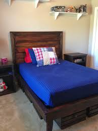 Rooms To Go Full Size Beds Best 25 Diy Full Size Headboard Ideas On Pinterest Diy Platform