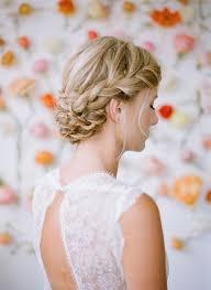 Hochsteckfrisurenen Bilder Geflochten by Die Schönsten Geflochtenen Frisuren Für Hochzeitsgäste Veniccede Me