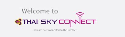 wifi onboard in the air thai airways