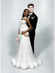 biracial wedding cake toppers groom personalized wedding cake tops