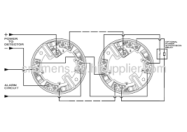 4 wire relay output function conventional smoke detector from