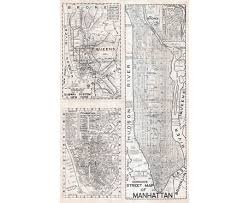 New York Street Map by Maps Of New York Detailed Map Of New York City Tourist Map