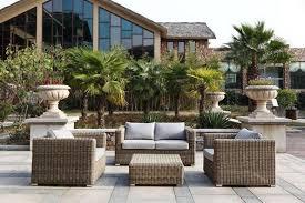 salon de jardin salon de jardin en résine tressée de luxe mobilier de jardin