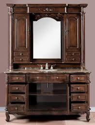 Sink Cabinet Bathroom 65 Inch Single Bath Vanity With Hutch