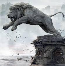 statue lions lion statue skulls and lions