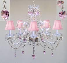 Pink Ceiling Fans by Girls Chandelier Ceiling Fan