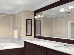 bathroom vanity mirrors ideas beautiful bathroom mirrors ideas with classic vanity l design
