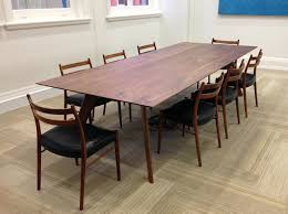Black Boardroom Table Vista St Dining Table By Nathan Day Design Handkrafted