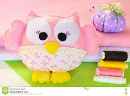 cute owl toy is made from felt and fabric home decor a child u0027s
