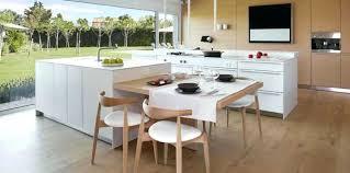 cuisine avec ilot table table ilot central cuisine ilot central table manger 4 cuisine