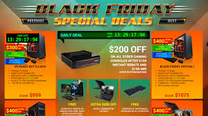 amazon black friday presales black friday week pc gaming hardware presale deals for the