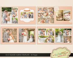 photo pages for albums wedding ideas wedding photobook layout amazing ideas square