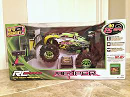 walmart monster jam trucks sparkle me pink new bright r c pro reaper review toys of 2014