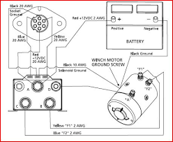ramsey winch wiring schematic wiring diagram and schematic design