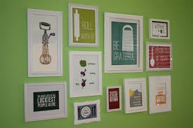 kitchen cute wall art decals quotes for kitchen with
