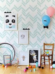chambre bébé papier peint stickers chambre bébé idées inspirations tendances