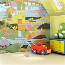 bedroom sweet wall murals make this modern kids room looks more