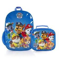 heys paw patrol boys u0027 econo backpack lunch bag kit walmart