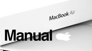 macbook air basics mac manual guide for beginners new to mac
