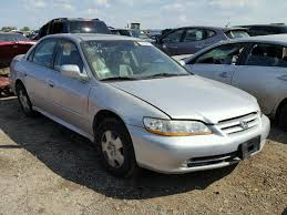 2002 silver honda accord 1hgcg16552a030353 2002 silver honda accord ex on sale in il