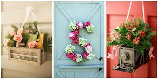 decorating home with flowers front door decor front door decorating ideas