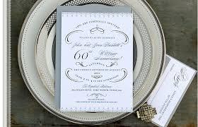 60th wedding anniversary invitations 60th wedding anniversary invitations sles 28 images golden