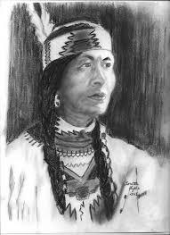native american pencil drawings native american woman by loretta