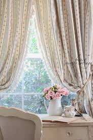 shabby chic curtains cottage shabby chic curtain and some