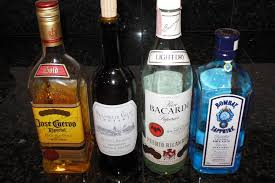 alcoholic drinks bottles things you should not drink when walking