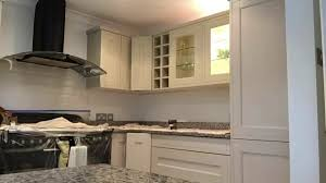 hand painted kitchen cabinets hd video handpainted kitchen cabinets upcycled farrow and ball
