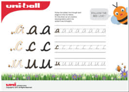 free handwriting worksheets u0026 practice sheets for children uniball