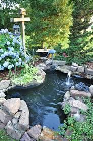Pond In Backyard by Best 20 Fish Ponds Ideas On Pinterest Pond Kits Koi Pond Kits